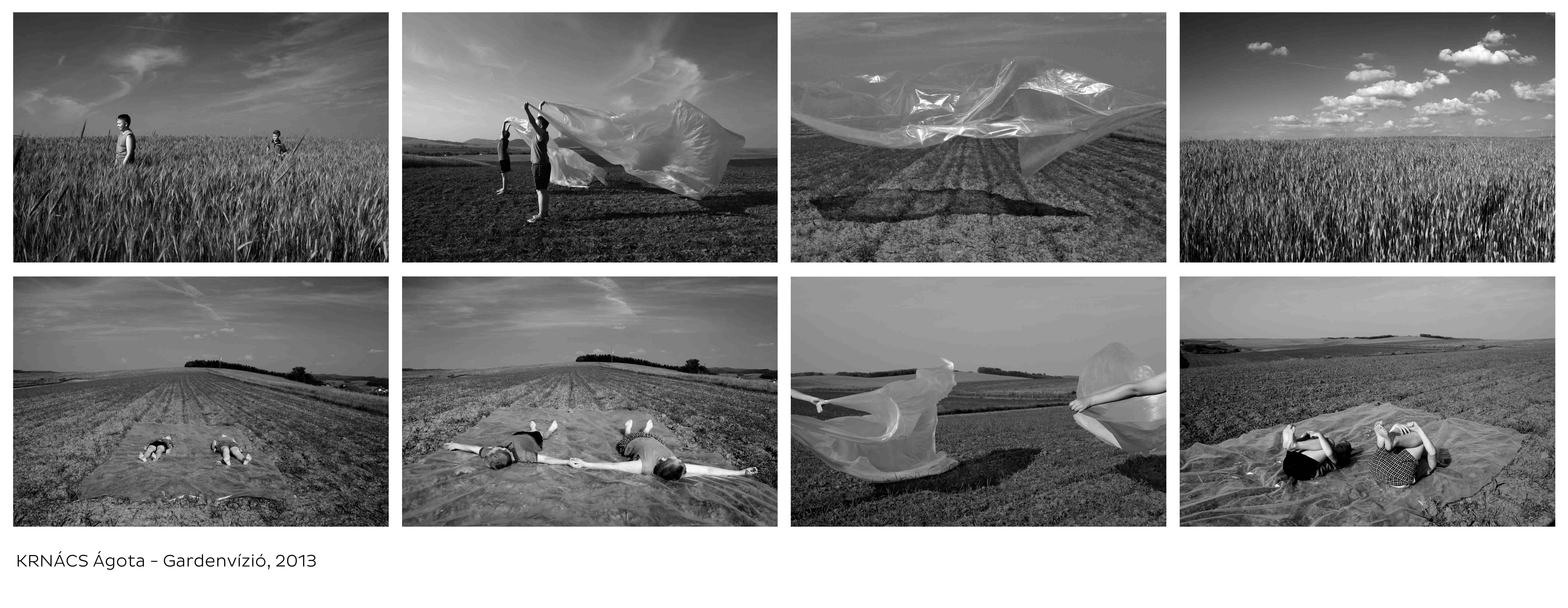 Ágota Krnács (H) Between earth and Sky only the World is Round, 2013. 30x42cm, Giclée print, 8 pieces series